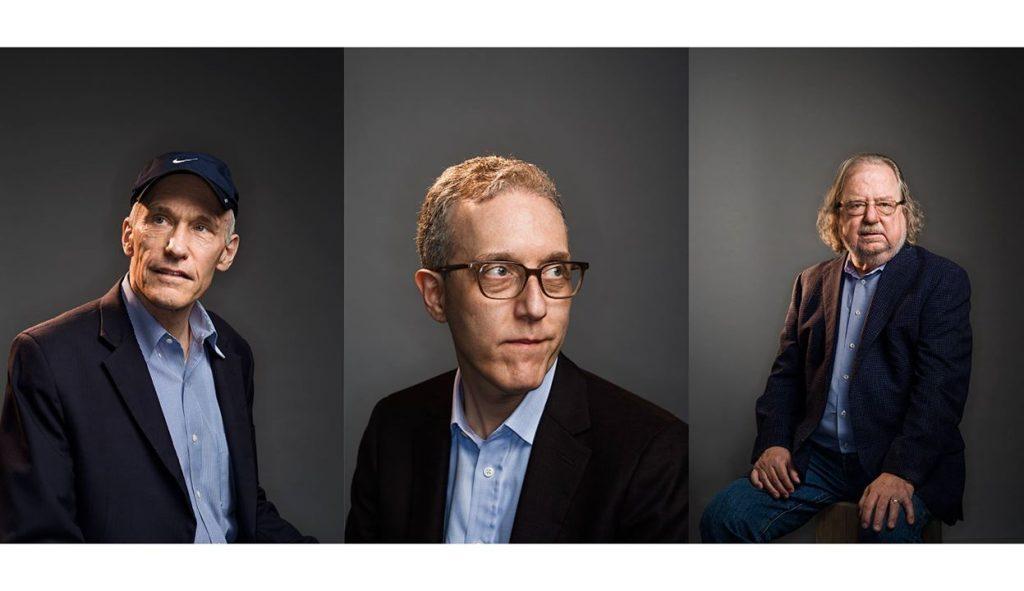 Пионеры исследований иммунотерапии Carl June (слева), Jedd Wolchok (в центре), и Jim Allison среди партнеров PICI. Фотограф Winni Wintermeyer для Fortune Magazine