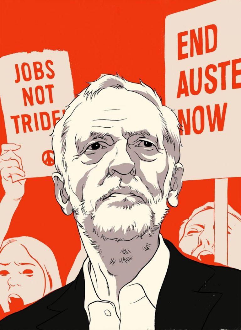 Восхождение Джереми Корбина на пост лидера Лейбористской партии стало неожиданностью для всех, также и для него.